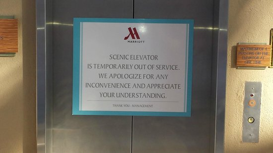 Elevator Out Of Service Entire Time There 98 Steps To The