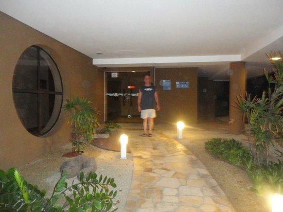 Mirador Praia Hotel: minentrada do hotel