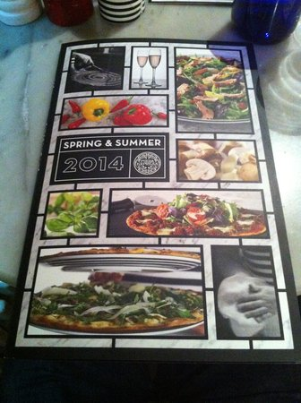 La Carta 3 Picture Of Pizza Express Horsham Tripadvisor
