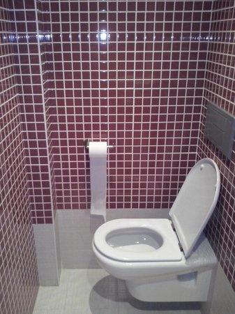 Hotel Plazaola : WC para sentarte cómod@