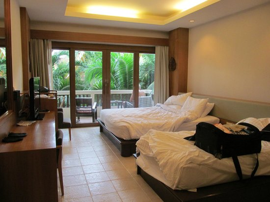 Thai House Beach Resort: Наш номер.