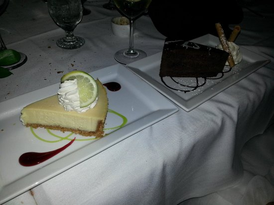 Fresh Catch Bistro: The BEST Key Lime Pie, and Chocolate Cake