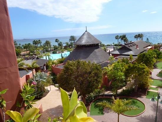 Sheraton La Caleta Resort & Spa, Costa Adeje, Tenerife: Blick auf die Anlage