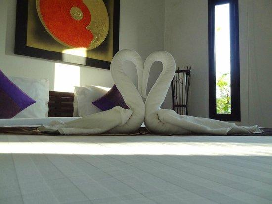The Gleam Resort: Nice towel artwork