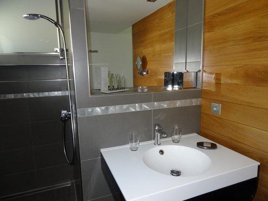 La Maison d'Hôtes Anne Fouquet : salle de bains