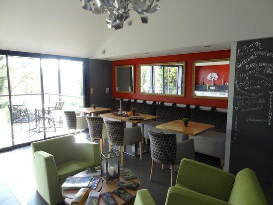 La Maison d'Hôtes Anne Fouquet : salle à manger