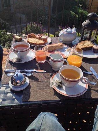 petit déjeuner les bergeries de Palombaggia