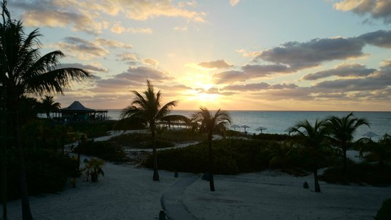 Club Med Columbus Isle : coucher de soleil depuis la chambre