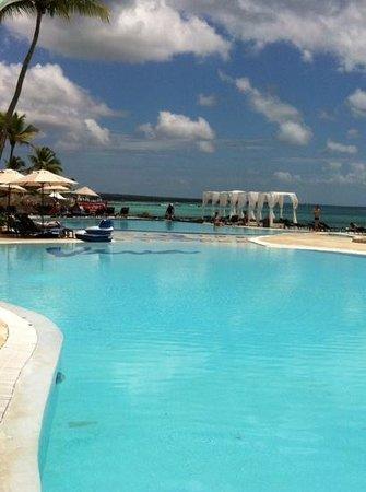 Viva Wyndham Dominicus Beach: vista ristorante