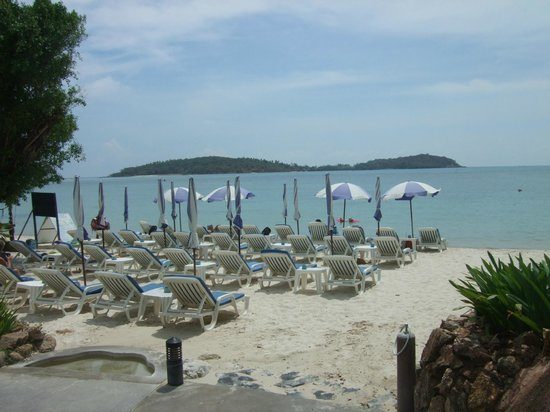 Samui Natien Resort : Strand