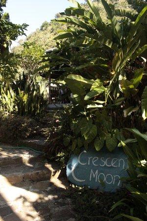 Crescent Moon Cabins: Entrée vers le Crescent Moon