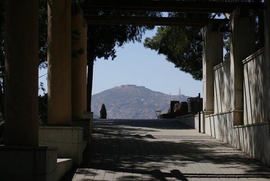 Castillo de la Concepción: View on the walk up