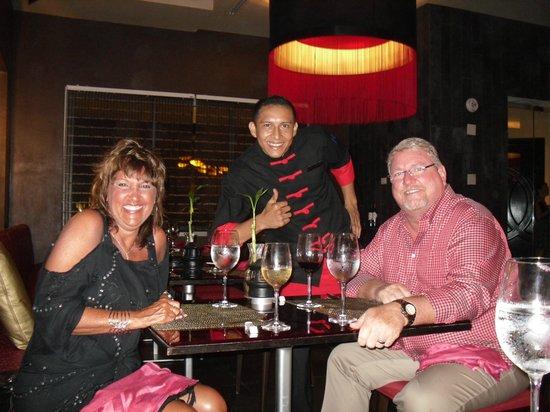 Secrets Silversands Riviera Cancun: Best Waiter Ever....