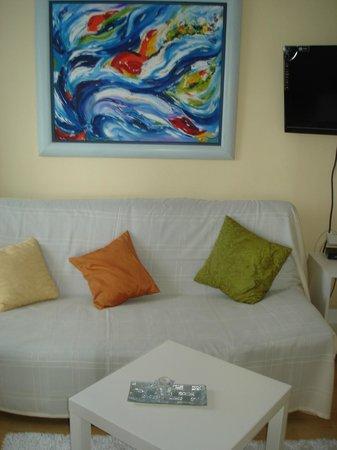 Art Villa Ines: Living room