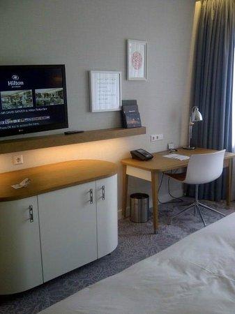 Hilton Rotterdam: work area