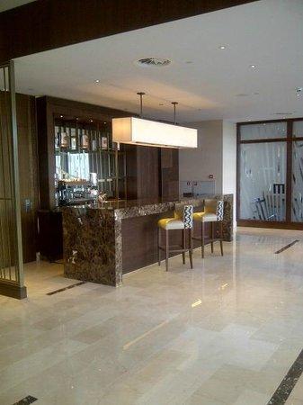 Hilton Rotterdam : Bar off the lobby