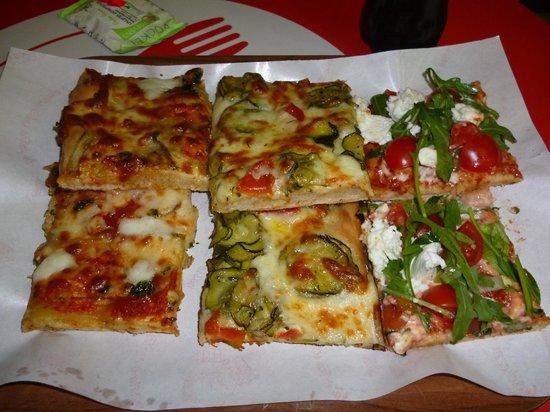 Pizza Europa Rustica: délicieux!!