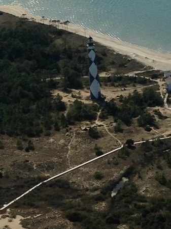 Southern Air at MRH: Cape Lookout Lighthouse