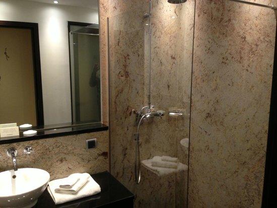 Steigenberger Hotel Metropolitan: Grande doccia con un bel soffione
