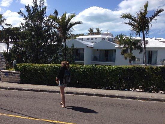 The Sandpiper: Blick von der Straße
