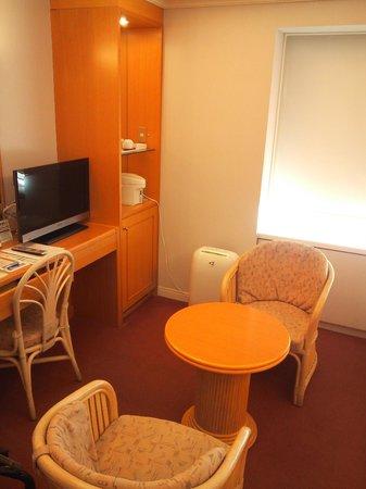 Hotel Kyocera : 13.09.21【ホテル京セラ】部屋の雰囲気
