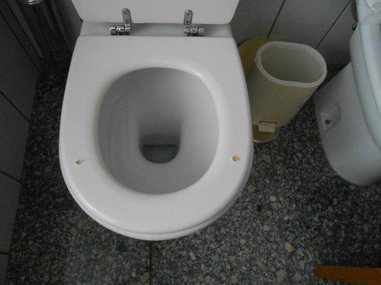 Montalegre Hotel: tampo da sanita partida