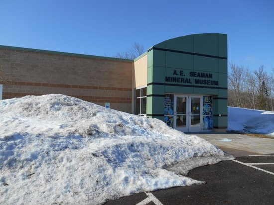Mineral Museum of Michigan: Front entrance of the Mineral Museum