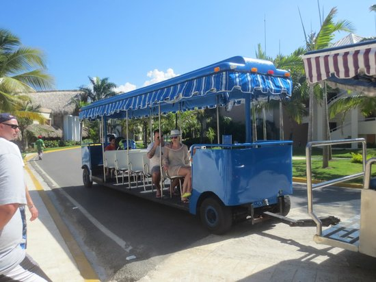 Memories Splash Punta Cana : Trolly