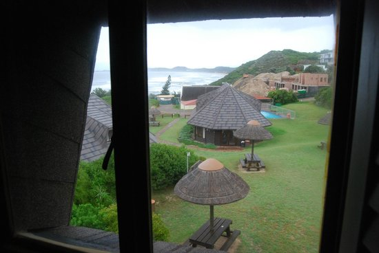 Brenton on Sea Cottages : A room with a view: Upstairs at the honeymoon cottage
