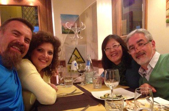 Bruno alla Lungaretta: Our new friends Carlos and Roseangeles. Great couple!