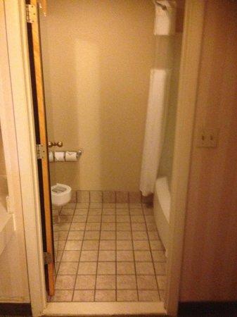 Ramada Columbus Polaris: Shower, toilet