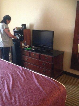 Ramada Columbus Polaris : TV, Refrigerator, Microwave