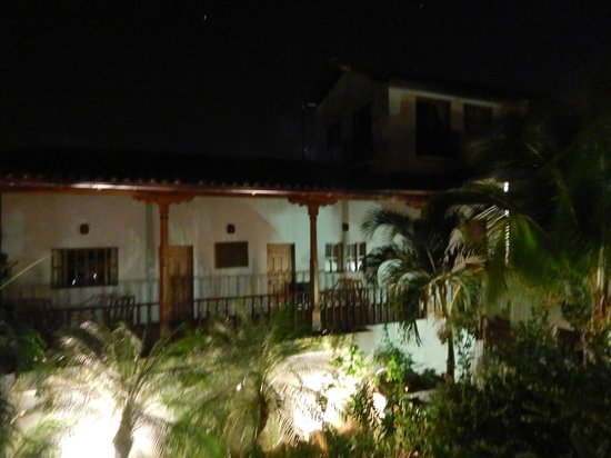 Miss Margrit's Guest House: From room balcony at night