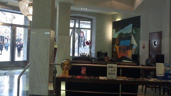 Hotel Europa : estar