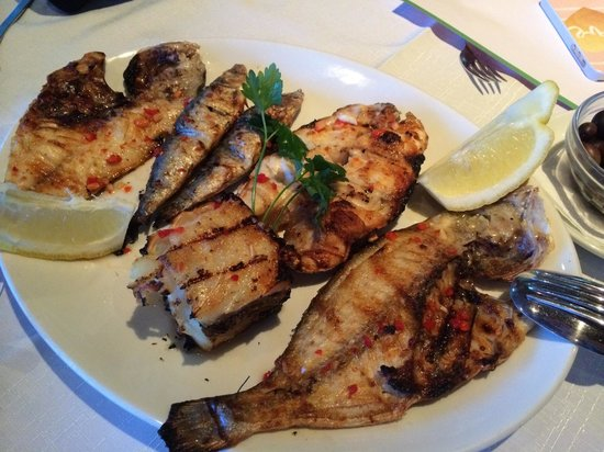 O Marisco: Seafood platter for 2!