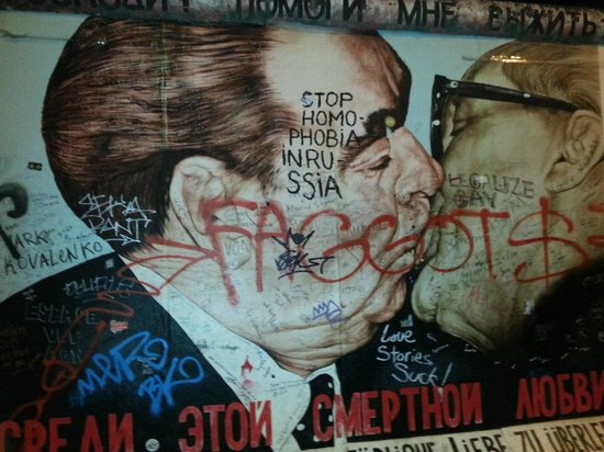Trabi-Safari - TrabiWorld Berlin: East Side Gallery - one of the stops on the Wild East Tour