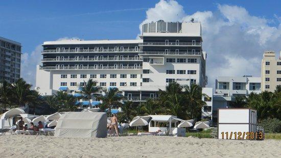 National Hotel Miami Beach : vista desde la playa