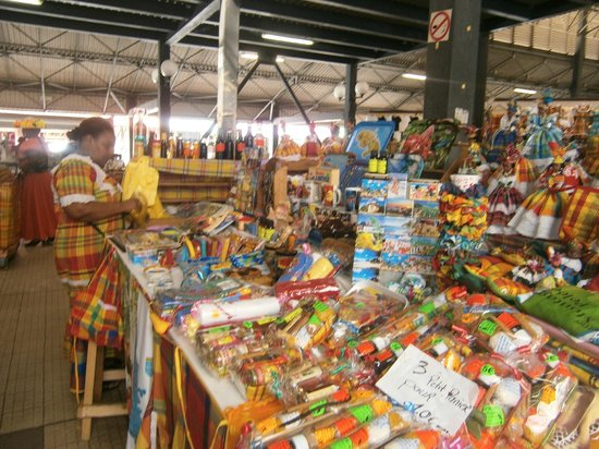 Fort De France, Le Gossip: Mercado
