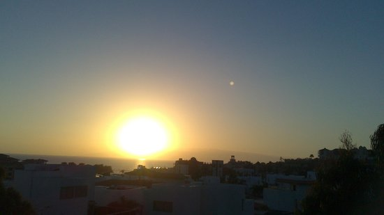 GF Fanabe: sunset from our room