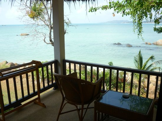 Lamai Bay View Resort : Balcony and View