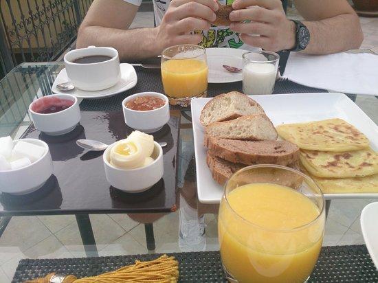 Riad Olema & Spa: desayuno
