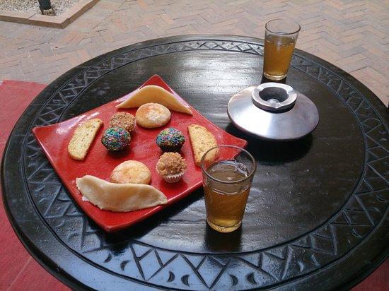 Riad Olema & Spa: pastas bienvenida