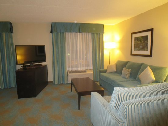 Holiday Inn Express Hotel & Suites Waterloo - St Jacobs : Living area