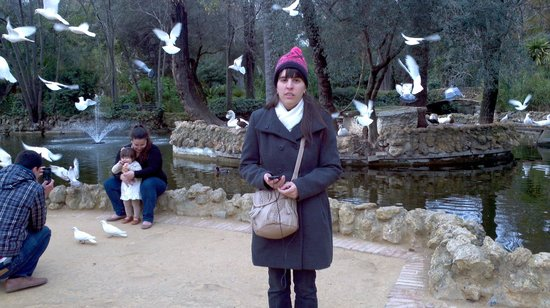 Parc de María Luisa : isla de las palomas