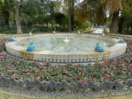 Parc de María Luisa : fuente de los sapos