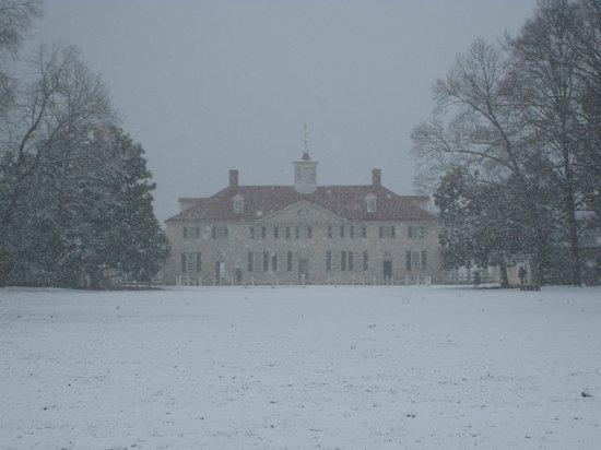 George Washington's Mount Vernon: Mount Vernon - late March 2014