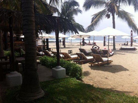 Hotel Del Wawa: Vista habitaciones frente al mar