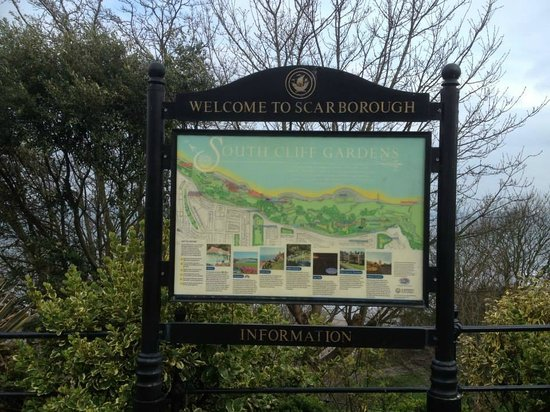 Bramblewick Guest House: This is what you see in Scarborough