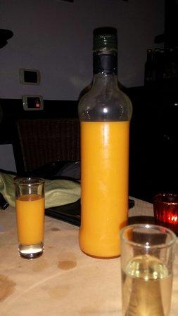 Ristorante Donna Sofia: Melon liquor tastes like heaven