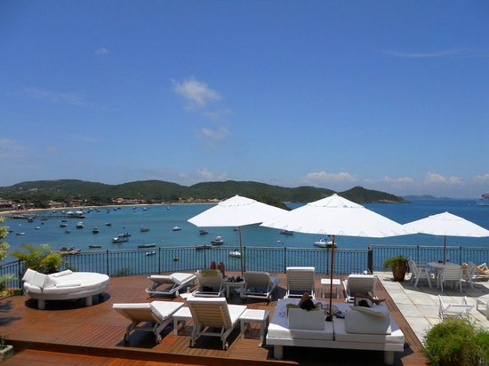 Casas Brancas Boutique Hotel & Spa: Hello Sunshine and blue skies